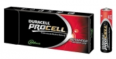 DURACELL PROCELL Alkaline AAA LR03 Micro 10er Tray 10er Tray 1,50V / 1.500mAh / PC2400