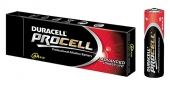 DURACELL PROCELL Alkaline AA LR6 Mignon 10er Tray 1,50V / 3.400mAh / PC1500